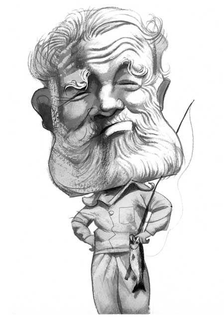 Hemingway by Fernando Vicente