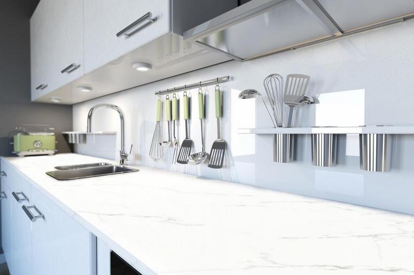 Produce Storage and Handling Kitchens, Kitchen reno and Countertops - glas küchenrückwand fliesenspiegel