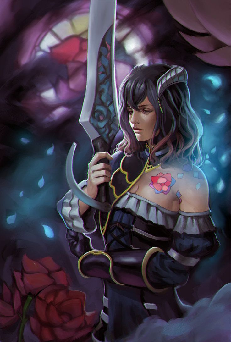 Bloodstained Ritual Of The Night Miriam By Phamoz On Deviantart