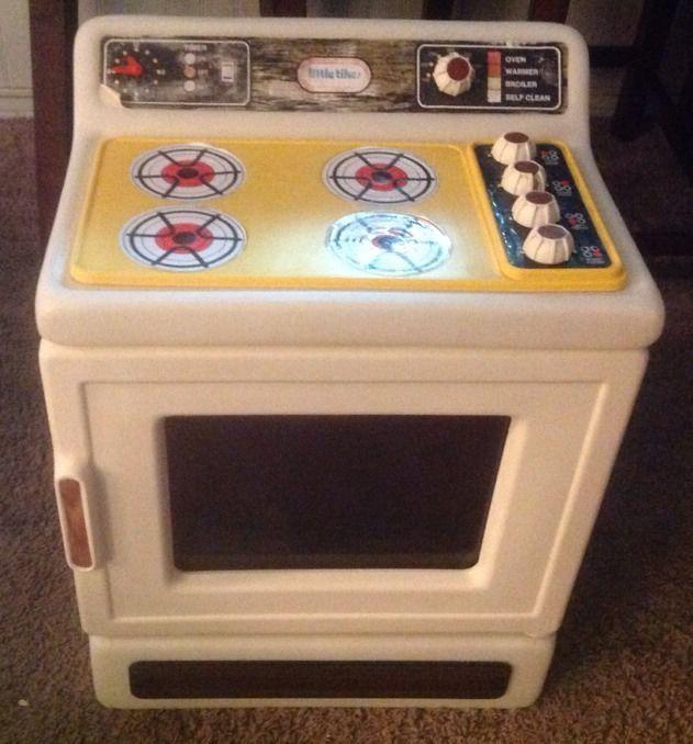 vintage little tikes kitchen cabinet-cupboard w/dishes | cupboard