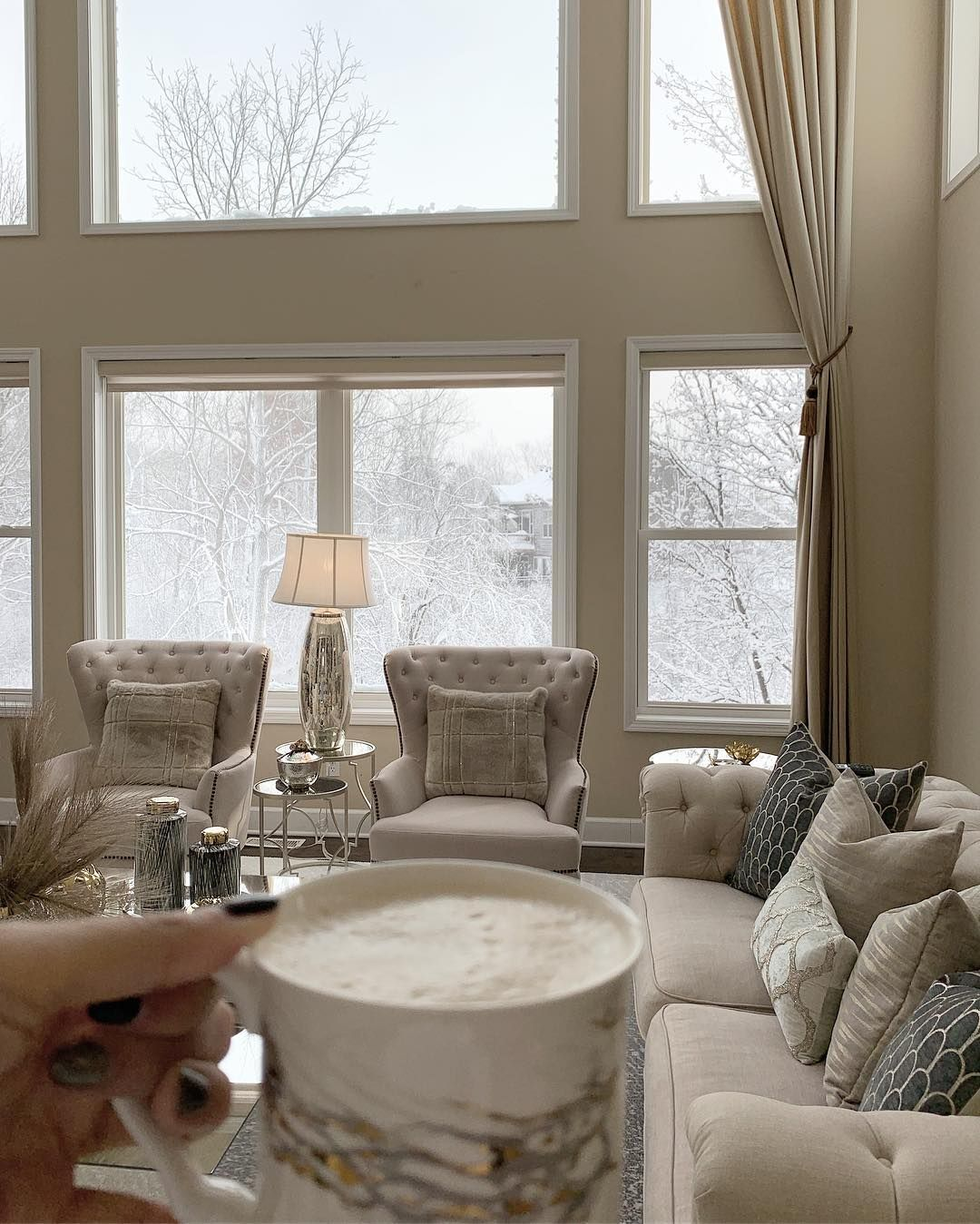 Interior Design Home Decor On Instagram Is It Snowing Where