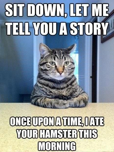 I Don\u0027t Think I Like This Story