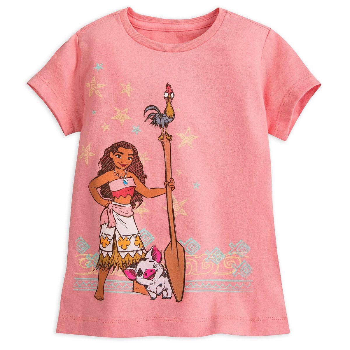 2f01d48549c Moana T-Shirt for Girls