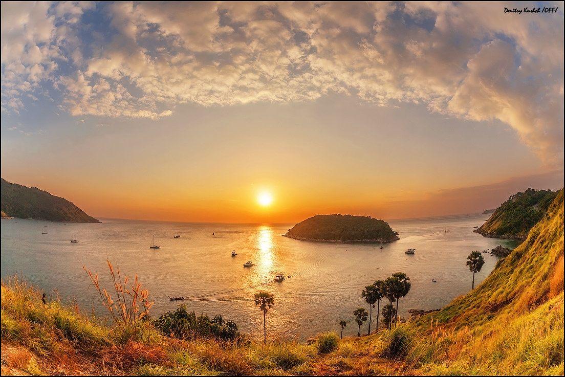 Sunset laguna in fish eye sunset sunrise laguna