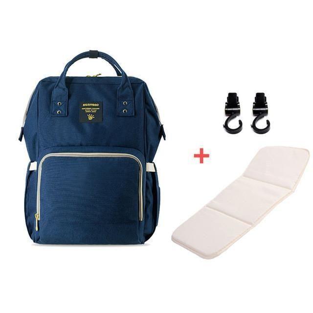 Sunveno Fashion Mummy Maternity Ny Bag Brand Large Capacity Baby Travel Backpack Designer Nursing