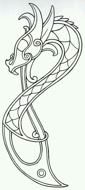 Coloring #vikingsymbols