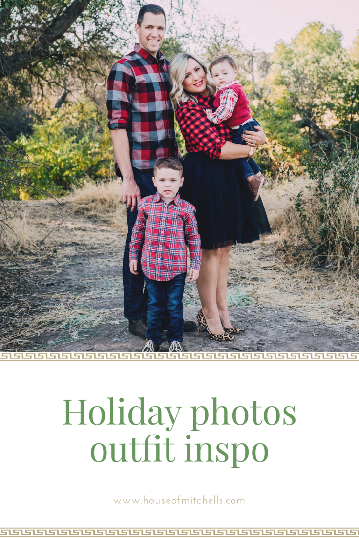 Holiday Photo Shoot Outfit Ideas Christmas Pictures
