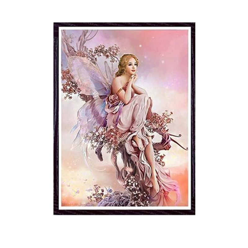5D Butterfly Fairys Girl DIY Diamond Painting Kits Embroidery Cross Stitch Decor