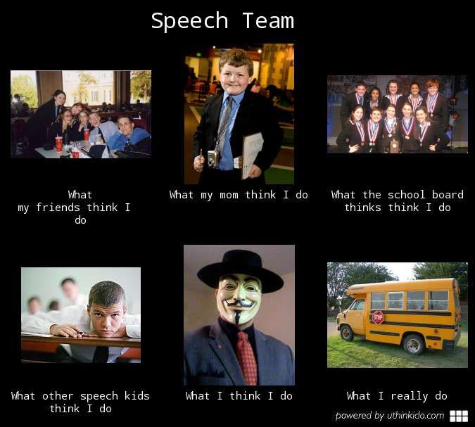 how to end a debate speech