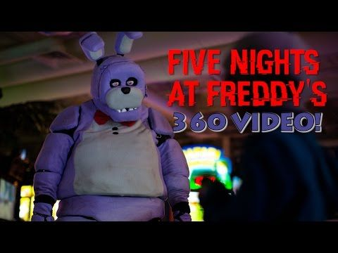 Five Night S At Freddy S In Real Life 360 Video Scary