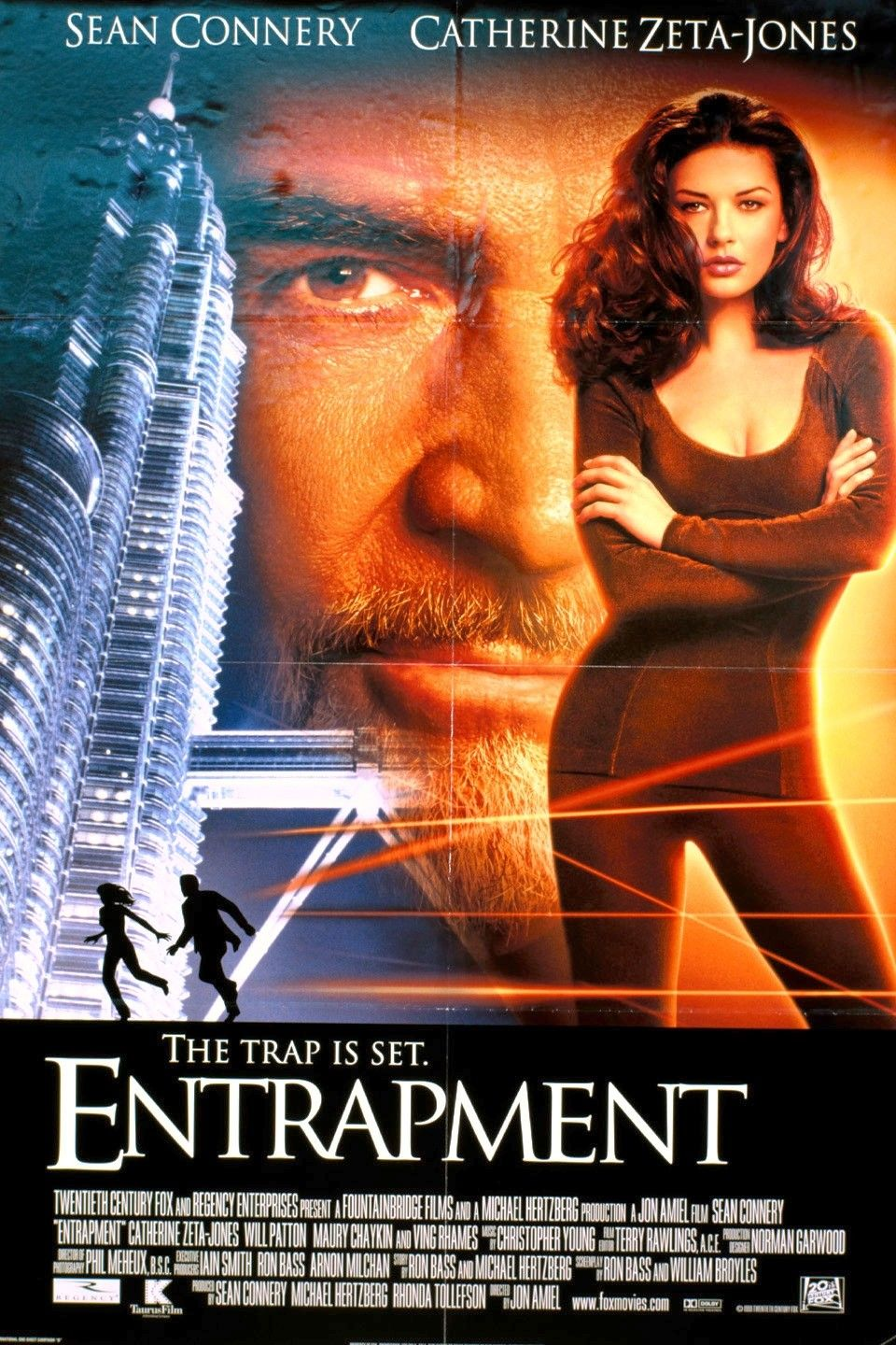 Entrapment (1999) Best movie posters, Film posters