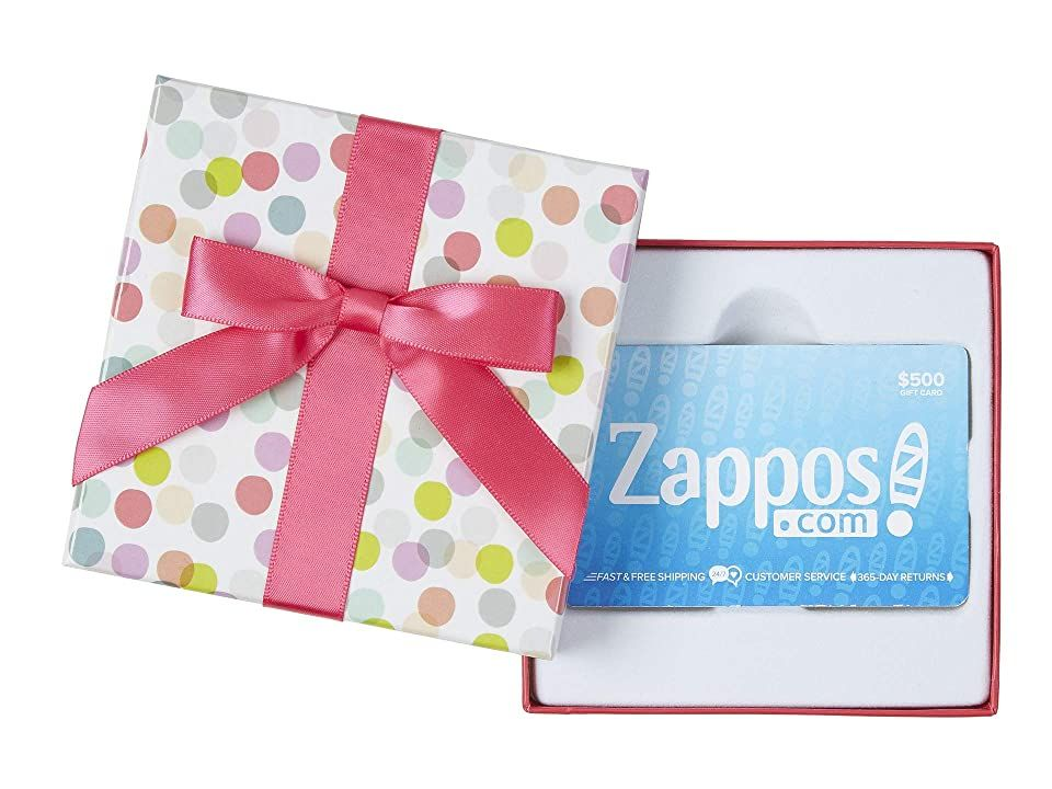 Dot Box Zappos Com In 2021 Gift Card Craft Free Gift Cards Teacher Gift Card