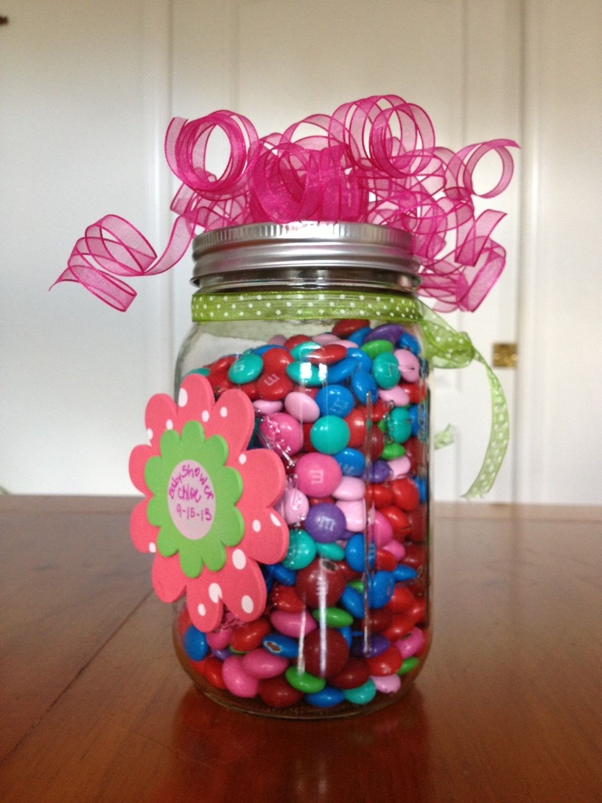 Guess How Many Game Decorate A Mason Jar And Fill It With M Or