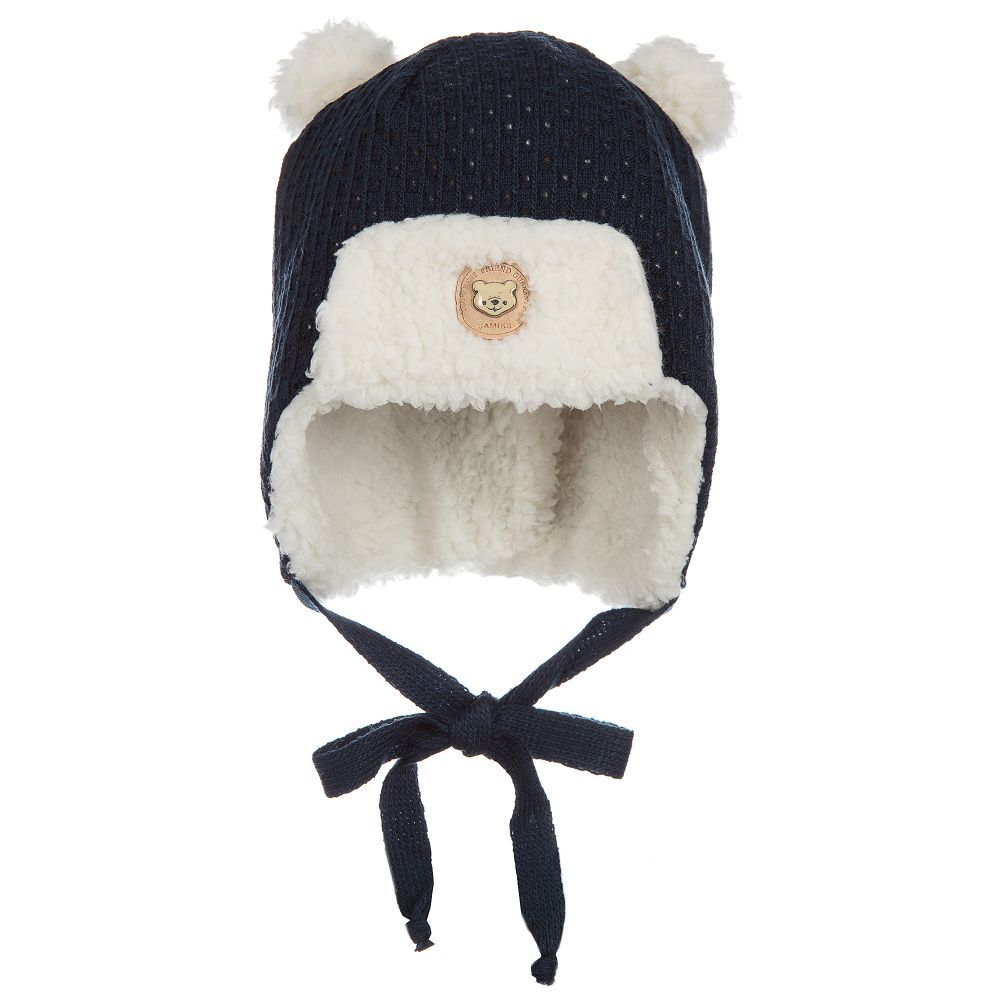 Jamiks Teddy Fleece Baby Hat. Shop from an exclusive selection of designer  Hats f3792125f778
