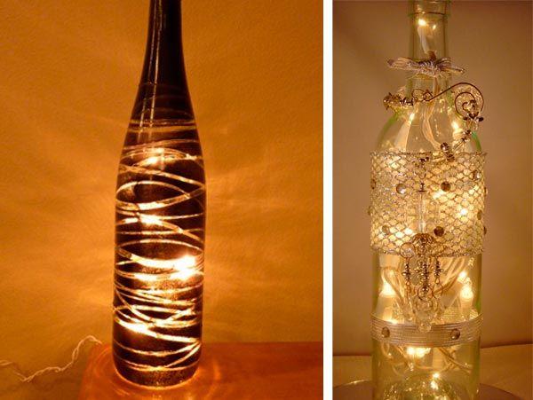 Como pintar botellas de vidrio proyectos que intentar - Como cortar botellas de vidrio ...