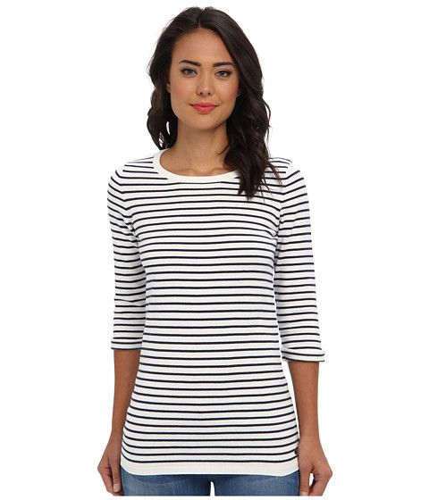 Mavi Jeans Striped Tunic Off White - 6pm.com