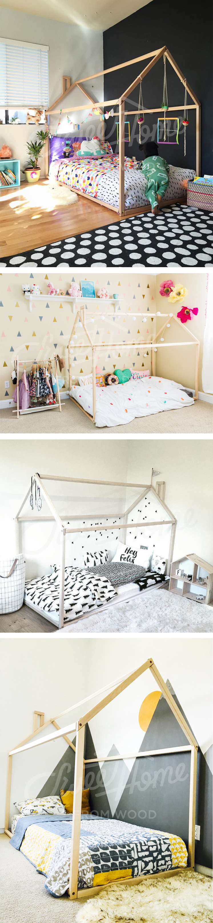 Baby jasper bed brackets - Toddler Bed House Bed Tent Bed Children Bed Wooden House Wood