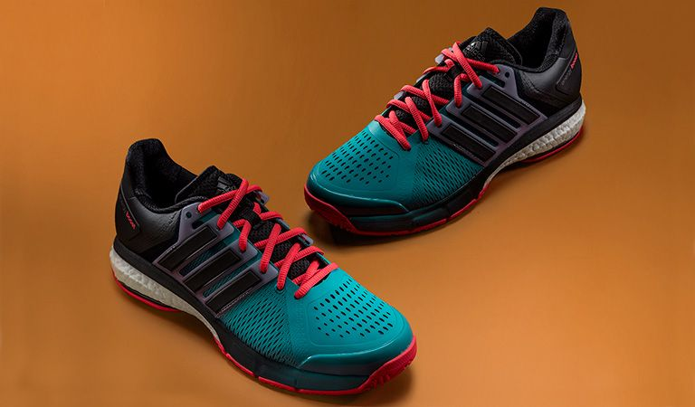 50b5177f87 As expected, the adidas Tennis Energy BOOST shoes felt extremely soft and  plush, especially underneath the feet, while at the same time being  responsive and ...