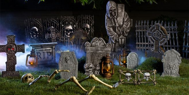 42++ Grave decorations for halloween inspirations