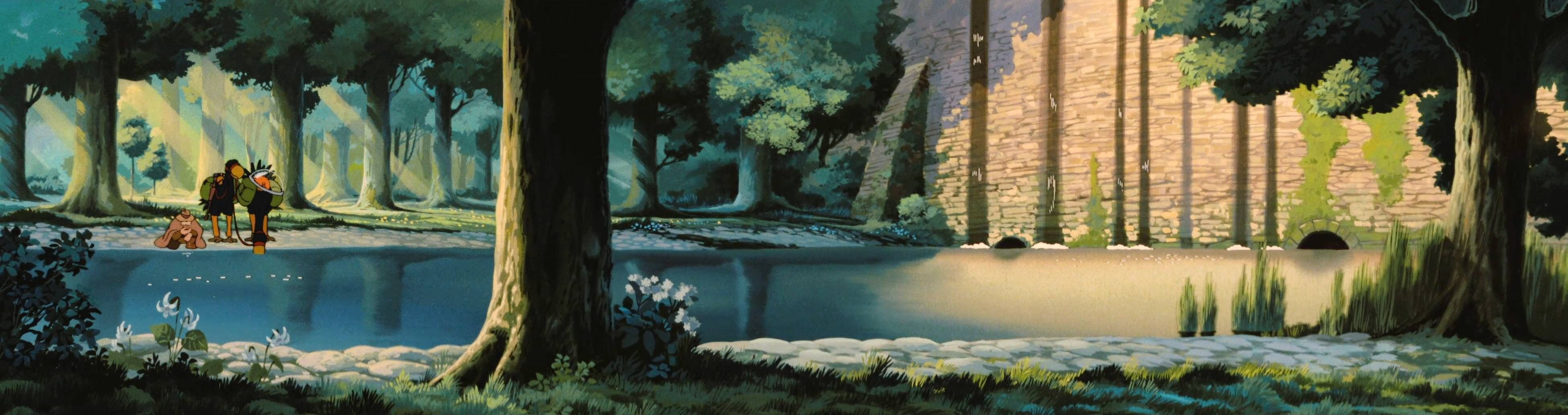Anime Studio Ghibli 4k Wallpaper Hdwallpaper Desktop Ghibli Artwork Studio Ghibli Ghibli