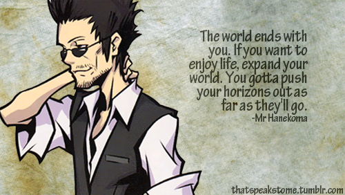 Mr Hanekoma Is A Wise Dude Opinionswords Of Wisdom End Of The