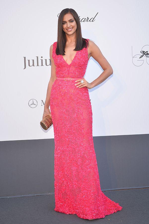 A modelo Irina Shayk. #casamento #vestidocomprido #convidada ...