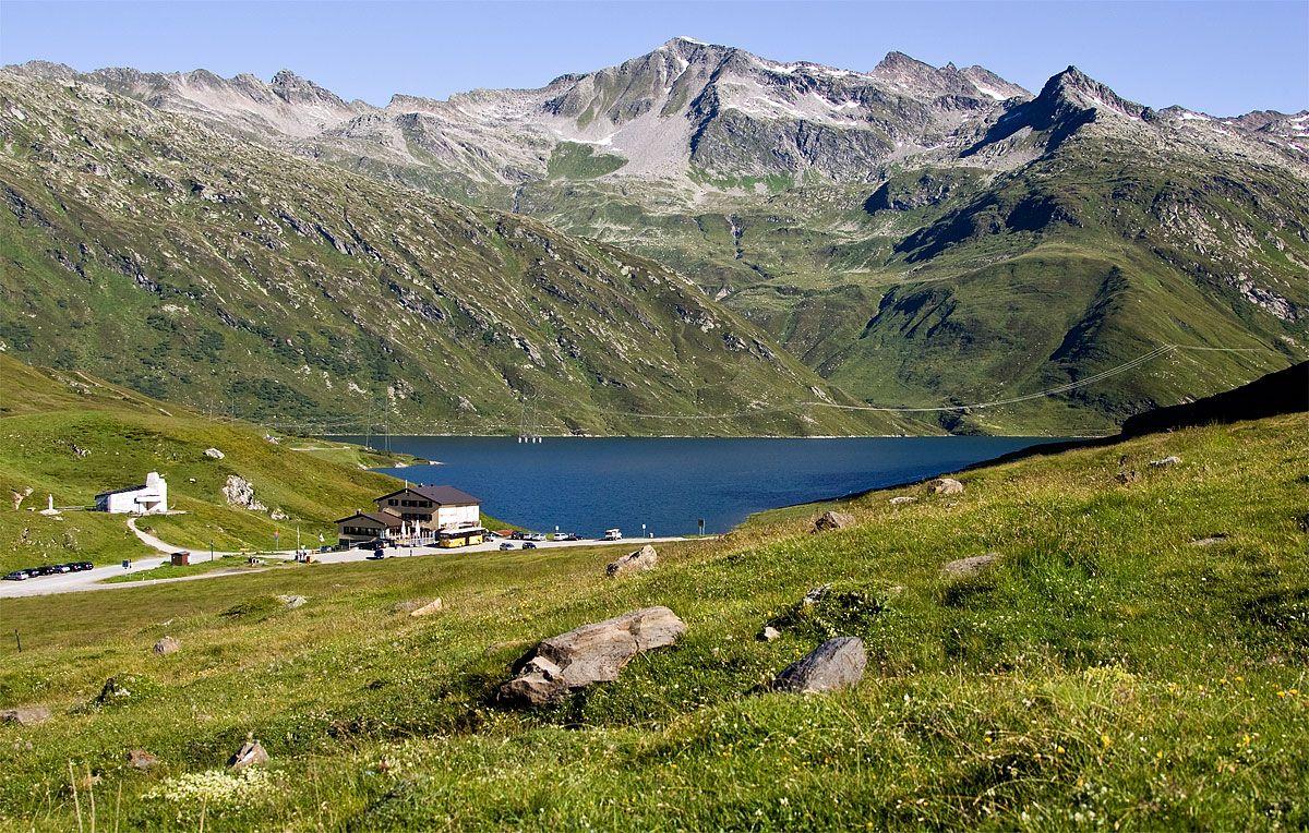 Lukmanierpass ~ Lake Sontga Maria ~ Switzerland