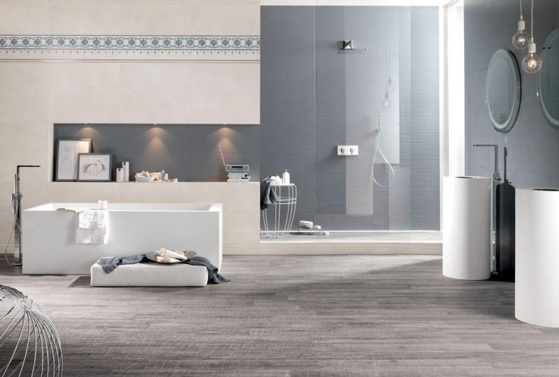 Badgestaltung mit Fliesen \u2013 89 der schönsten Badfliesen Designs aus - badezimmer design badgestaltung