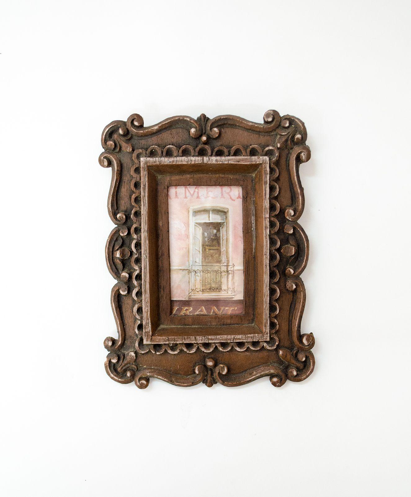 Cuadro pequeño con ilustración de puerta Nro. 1