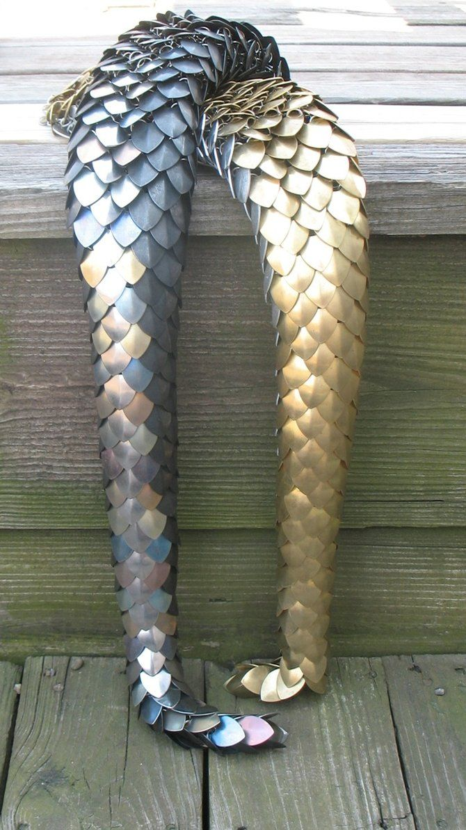 Scale Maille Dragon Tail Omg Want To Try This Cosplay