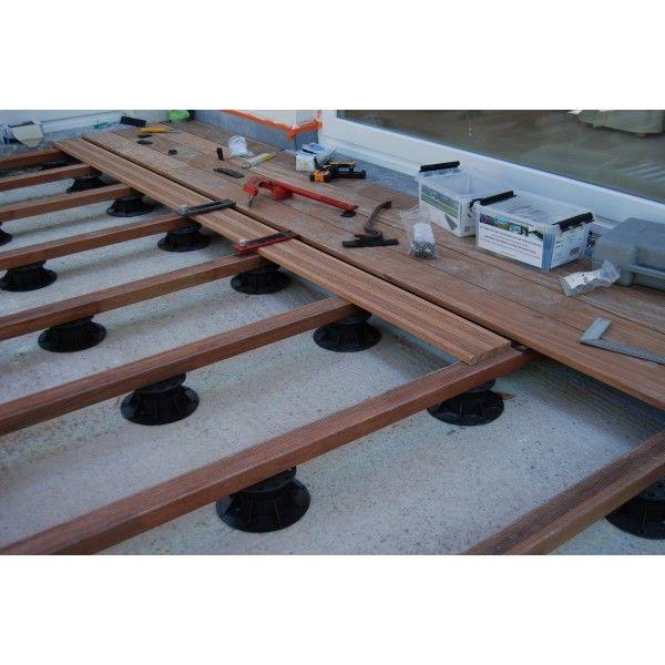 Installation du0027une terrasse en bois en ipé  un kit de 10 m2 - COTE - installer une terrasse en bois