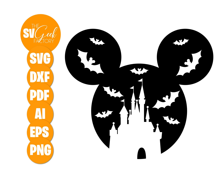 Disney Halloween Mickey Svg Halloween Svg Disney Svg Mickey Etsy In 2020 Disney Halloween Etsy Svg