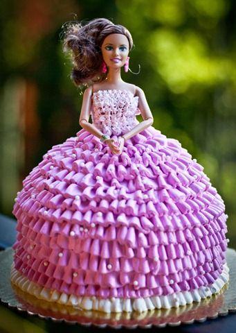 Barbie Doll Cake Barbie Cake And Dolls - Birthday cake doll princess