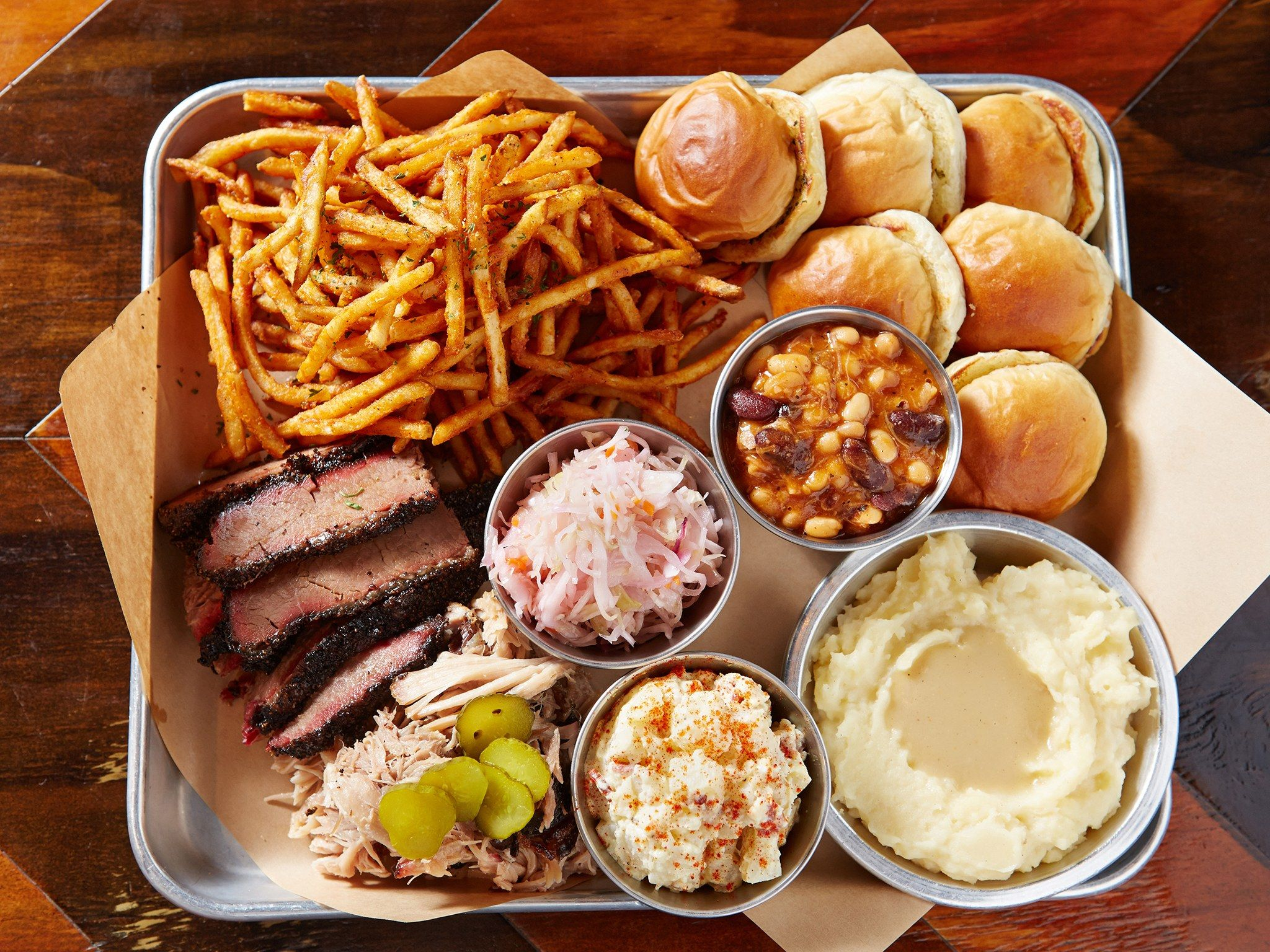 The Best American Bbq Is In South Korea No Seriously Conde Nast Traveler Bbq Platter Food Bbq Party Food