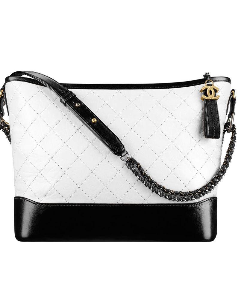 22a8bbc5275080 2017 Spring and Summer Fashion Show, #Chanel #Gabrielle Hobo Bag A93824