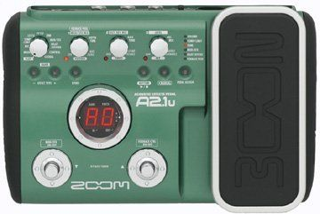 Zoom A2 1u Acoustic Effects Pedal With Usb And Expression Pedal Continue To The Product At The Image Li Guitar Effects Pedals Effects Pedals Guitar Effects