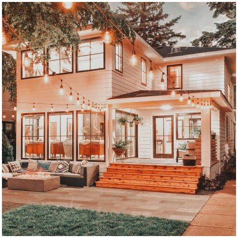cozy aesthetic house exterior
