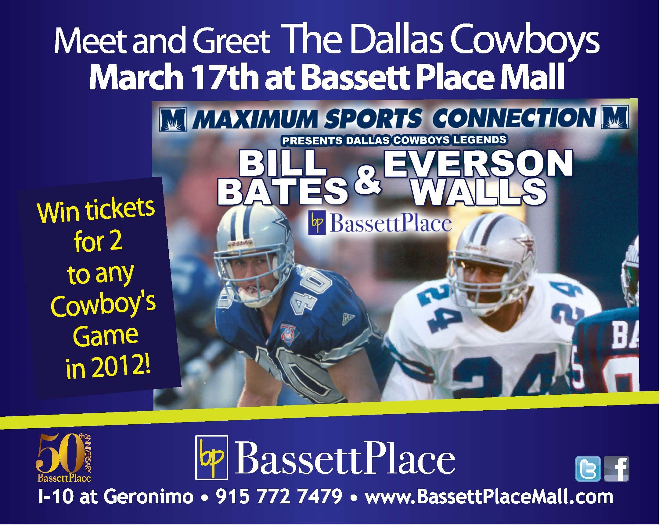 March 17th meet the classic dallas cowboys bassett place as march 17th meet the classic dallas cowboys bassett place as maximum sports connection will be m4hsunfo