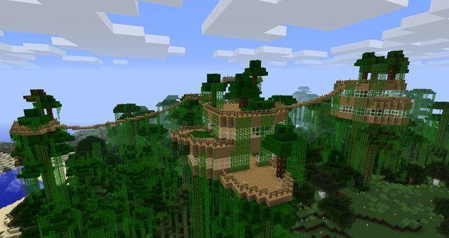Minecraft Tree House Complex Of Epicosity!