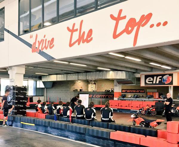 lezione teorica in corso #topfuelracing #bikecamp #bike #camp #pitbike #pit #indoor #vignate #milano