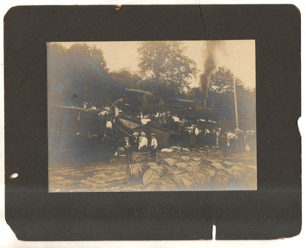 WMRR Western Maryland Railway, Railroad WRECK WESTMINSTER