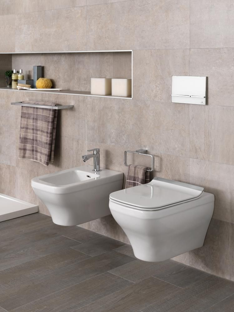 wall hung toilets with concealed frame for cistern by noken feel the freedom in