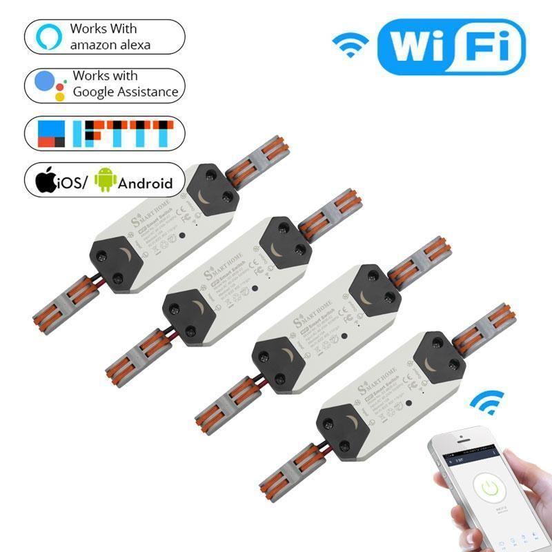 Diy Wifi Smart Light Switch Universal Breaker Timer Wireless