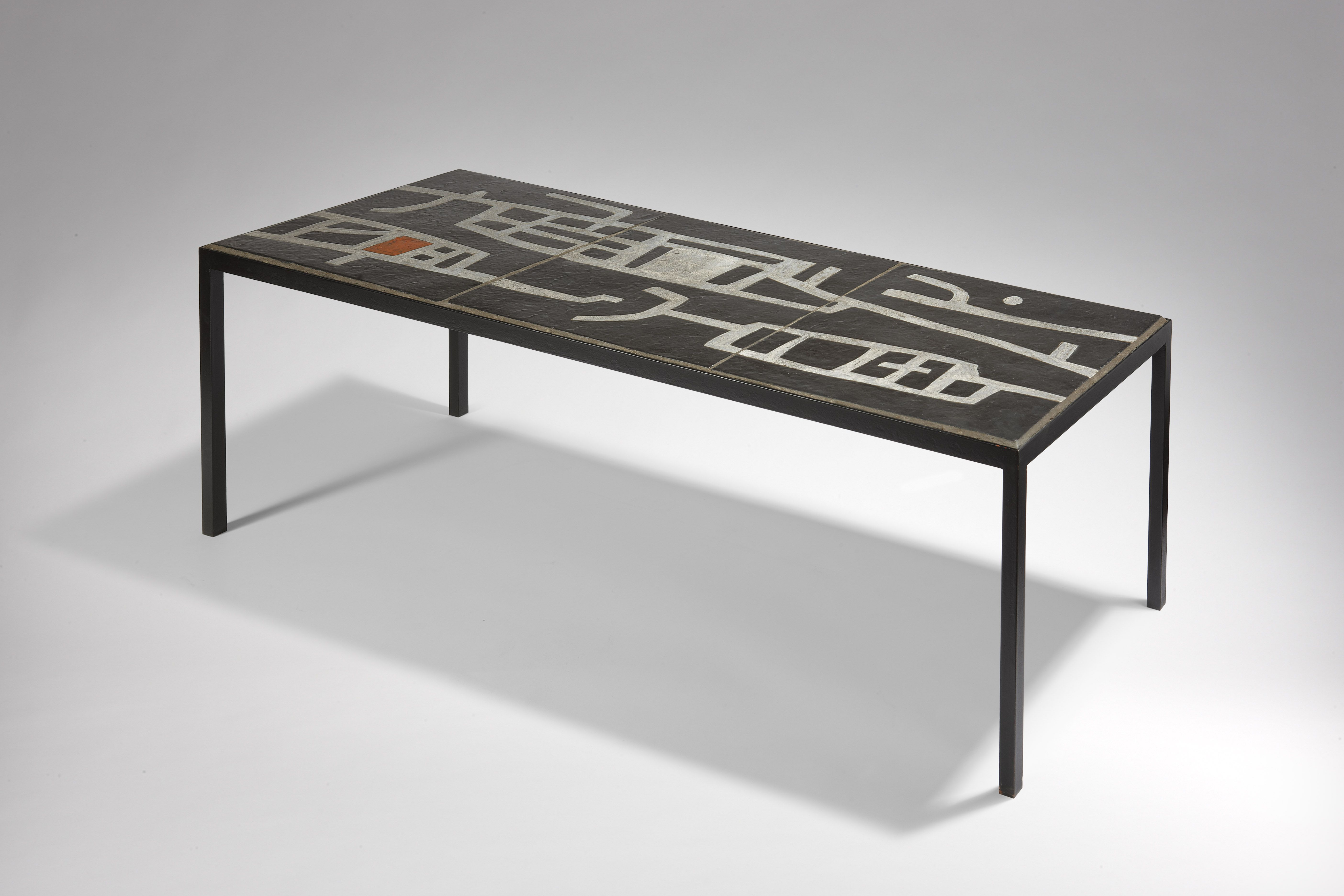 Galerie Chastel Marechal Archives Andre Borderie Table Furniture Tile Tables Coffee Table