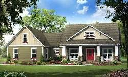 bungalow style house plans 2100 square foot home 1 story 4 bedroom and 2 3 bath 2 garage stalls by monster house plans plan - Craftsman Style One Story House Plans