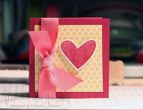 Make a Card Monday  Making a card from start to finish How to