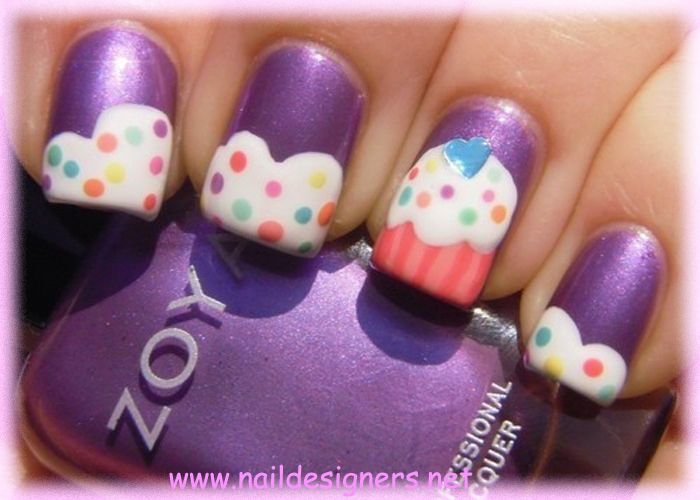 birthday fingernail designs ten awesome birthday nail design ideas 2012 - Nail Design Ideas 2012