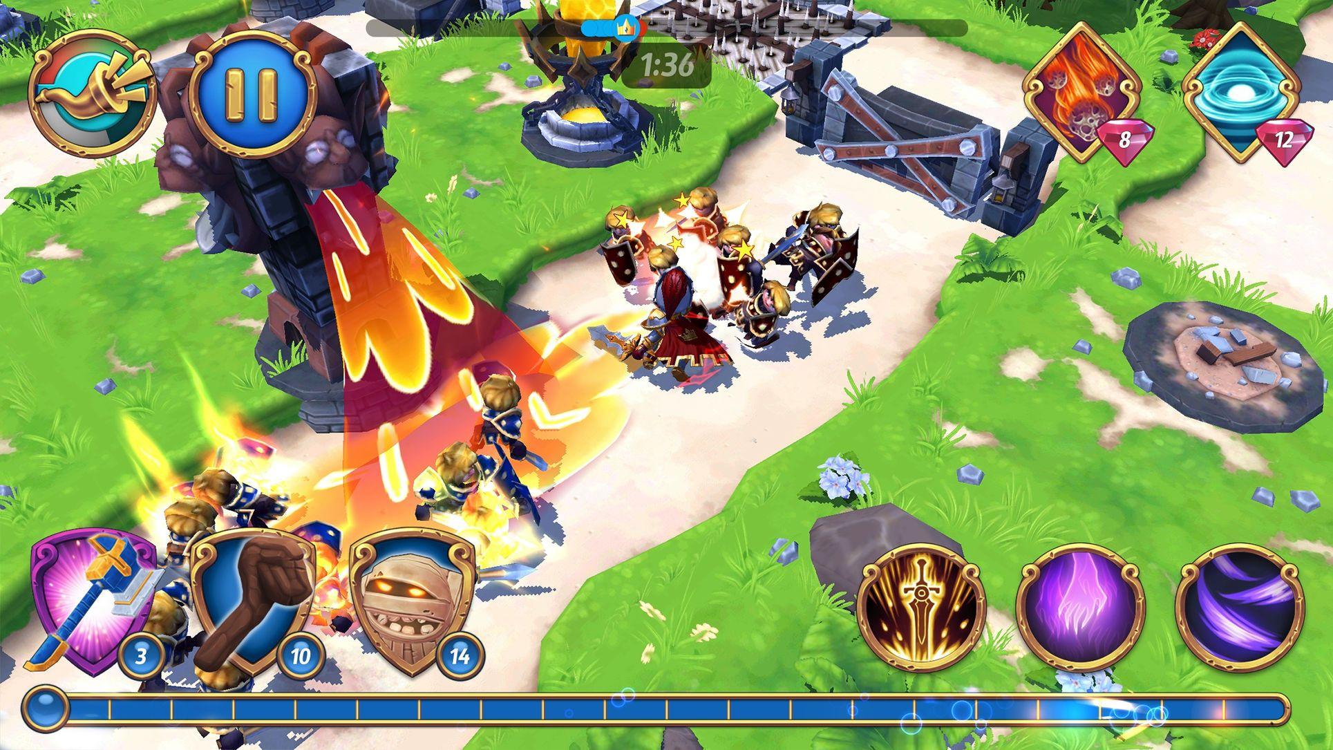 Royal Revolt 2 Role Action Ios Playing Revolt 2 Revolt Games For Teens