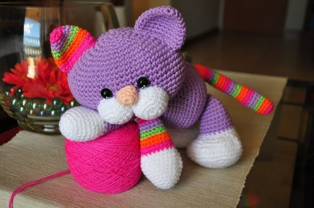 Chica outlet & DIY: gatito - free pattern. | Costuras | Pinterest ...