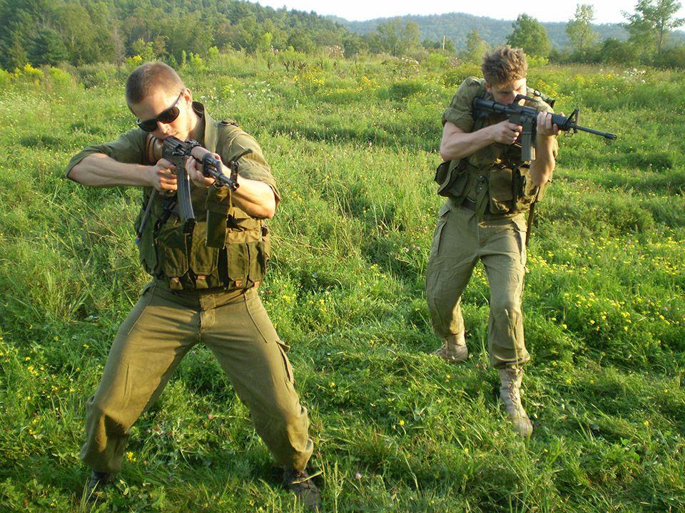 Cherev Gidon - Israeli Tactical Training Academy - HOME